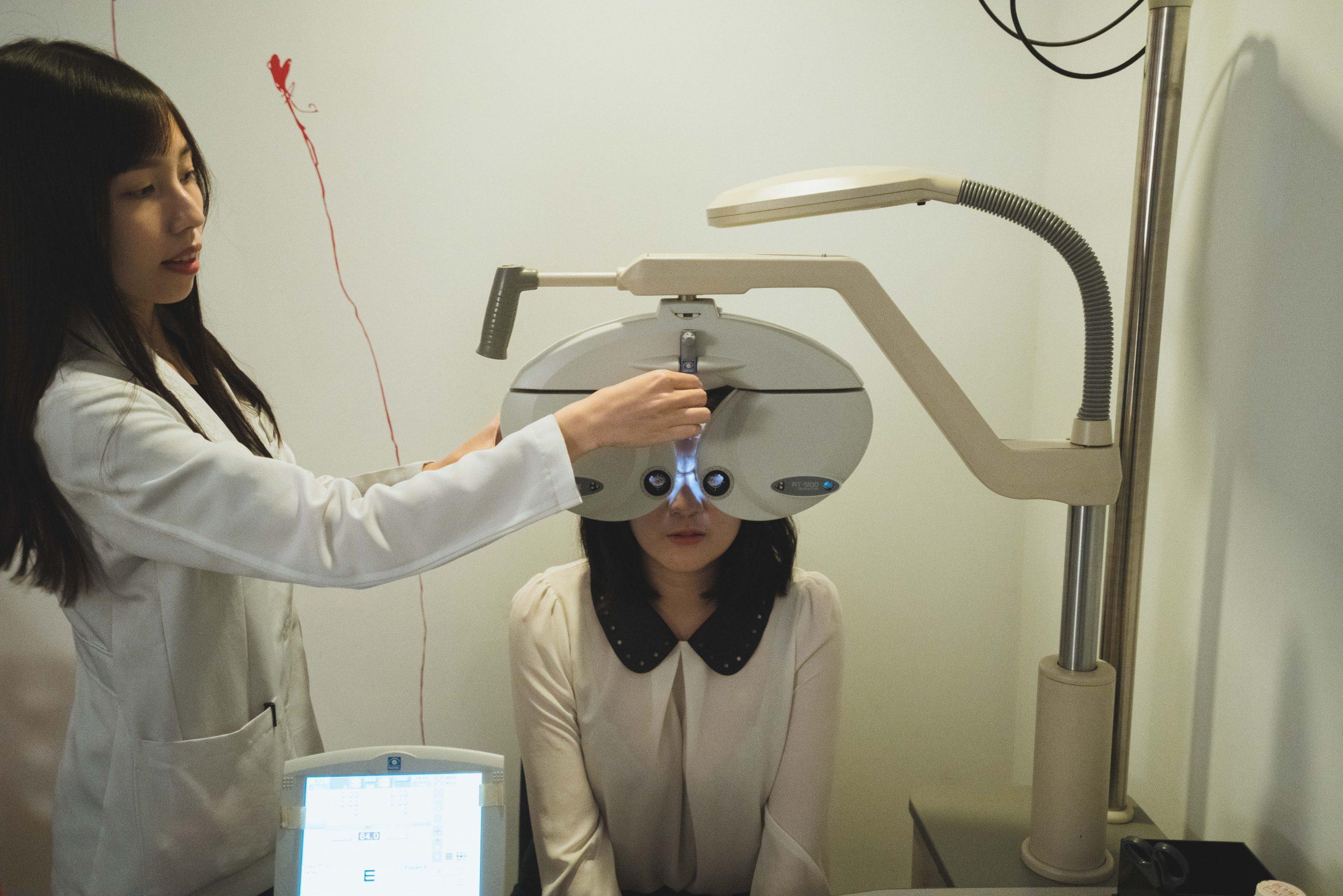 台中白佳欣眼科診所近視雷射檢查