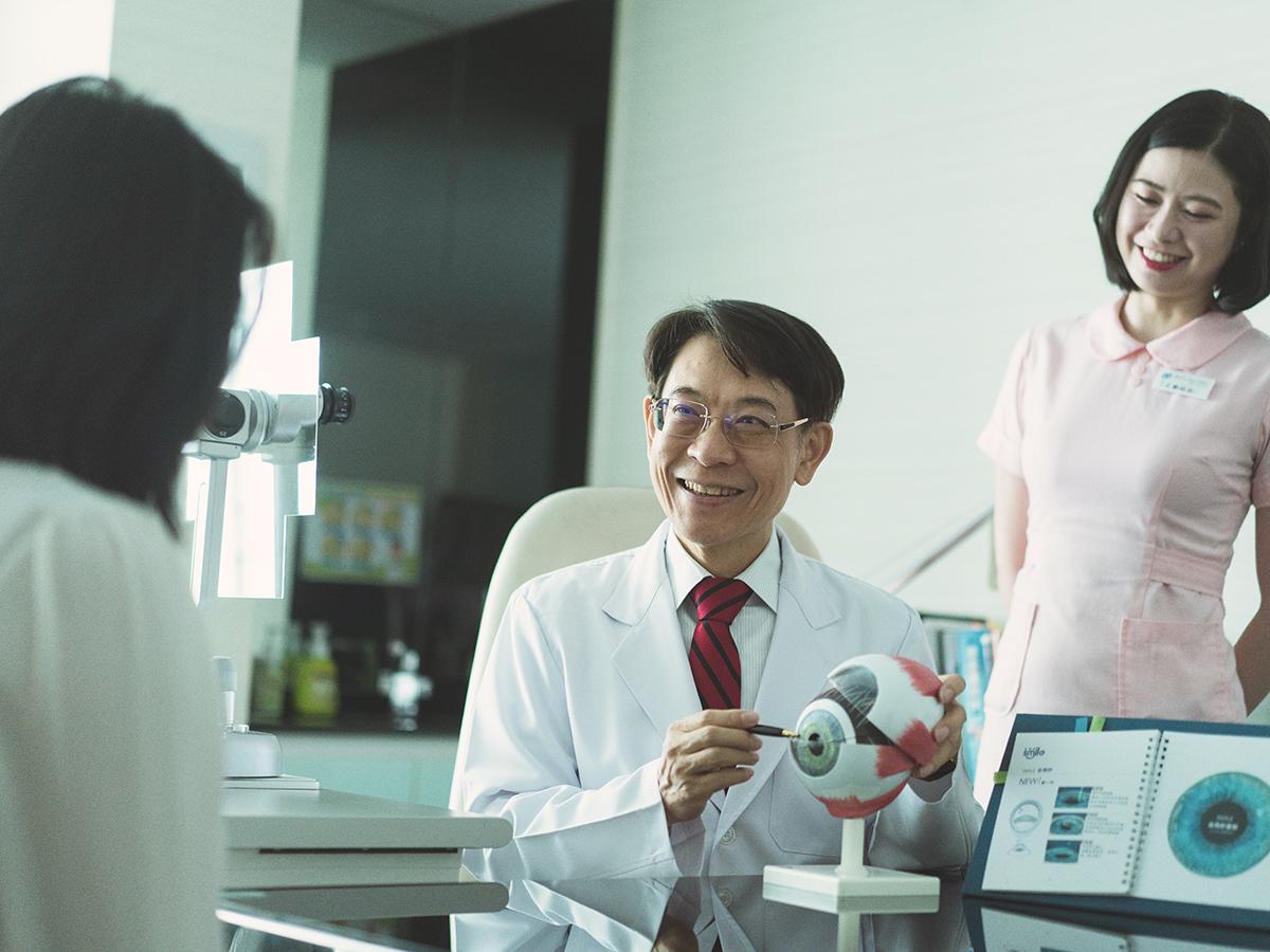 台中白佳欣眼科診所-白佳欣院長說明雷射近視手術